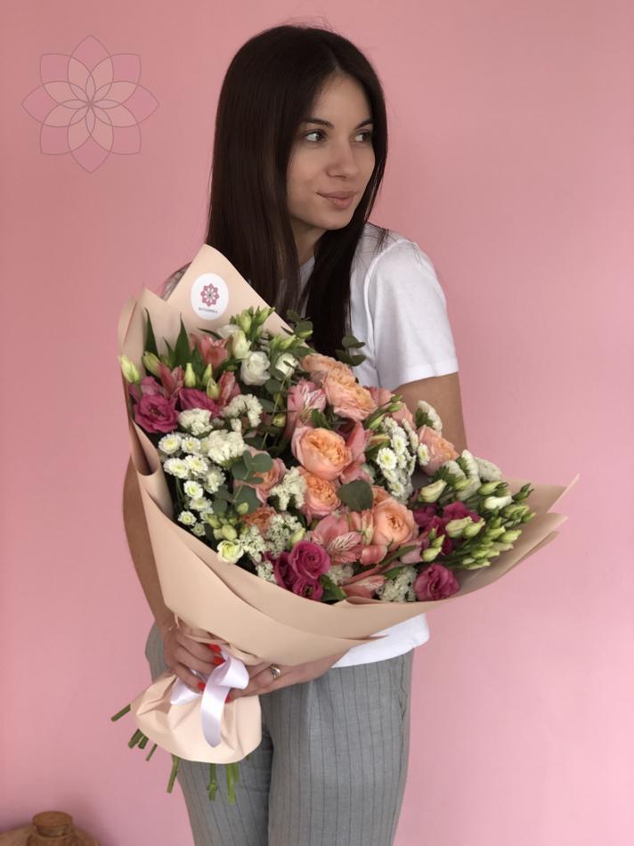Букет Валенсия, цветы, букет