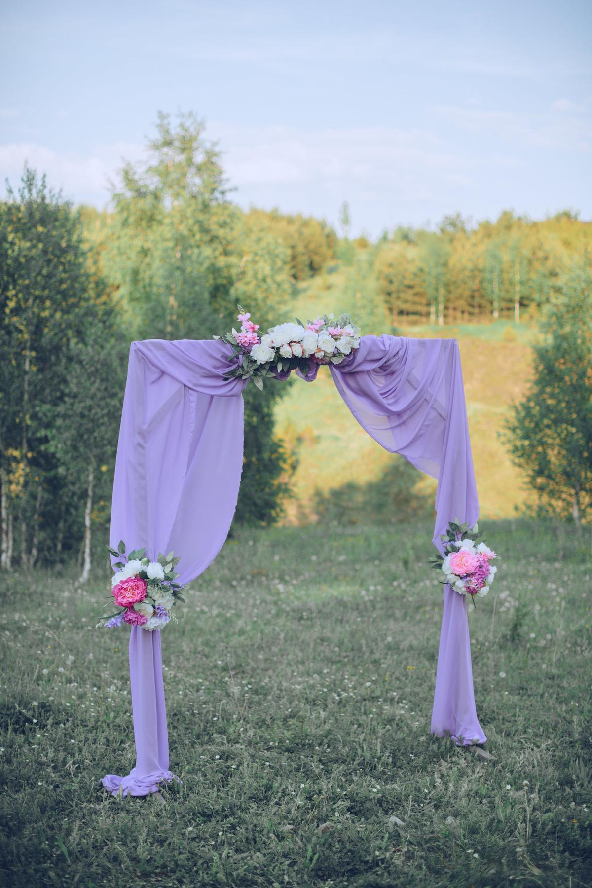 Свадебная арка, оформление свадеб казань