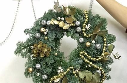 Рождественский венок своими руками - нет ничего сложного