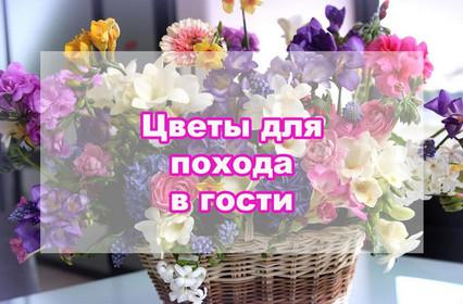 Как правильно ходить в гости и дарить цветы?