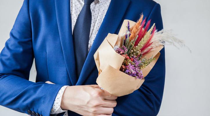 Мужские букеты: каковы их главные особенности?