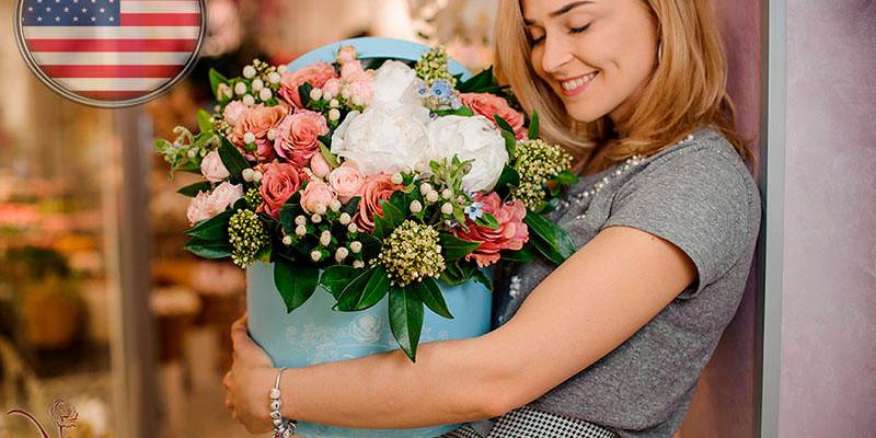 Как заказать и оплатить доставку цветов в Казани если Вы находитесь в США?