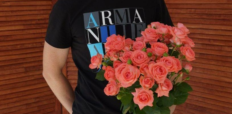Как дарить розы?