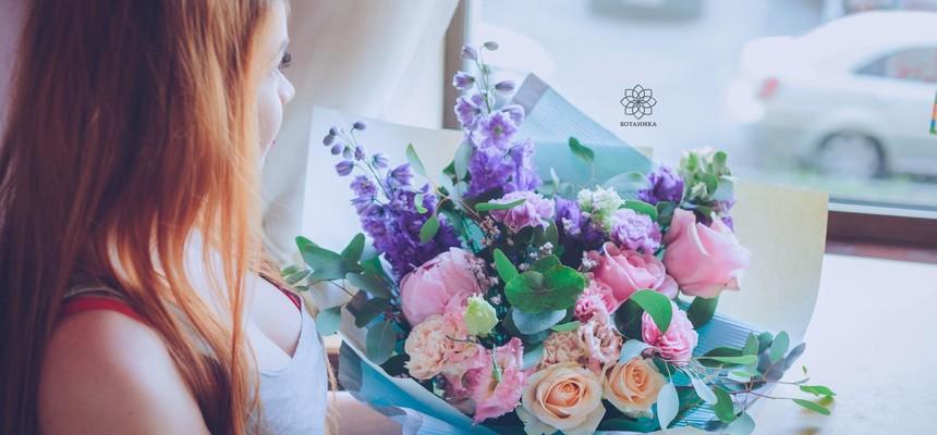 Самые модные букеты цветов 2017 - 2018 года. Фото. Тренды флористики.