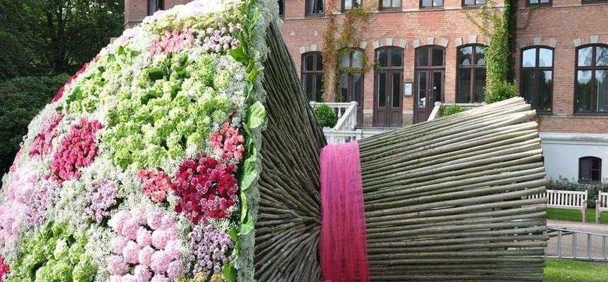 Самые большие цветочные композиции в мире