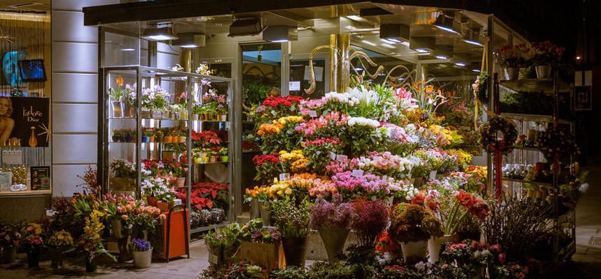 Как дарят цветы в других странах