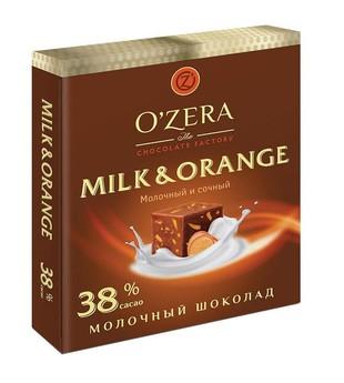Шоколад молочный Milk-Orange
