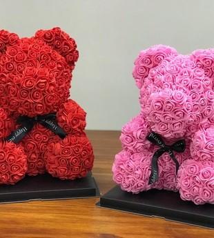 Цветочные мишки в ассортименте