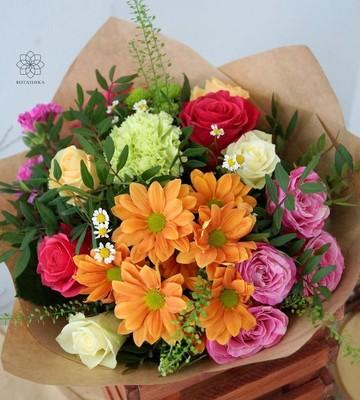 Букет цветов на последний звонок