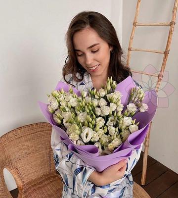 Белоснежные цветы на 14 февраля