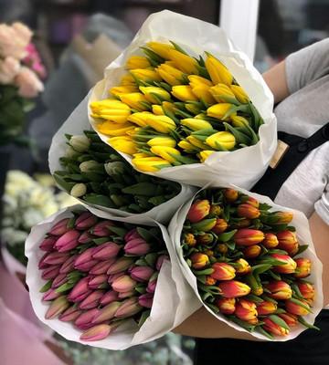 Тюльпаны микс (штучно)