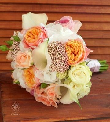 Букет невесты Сияние
