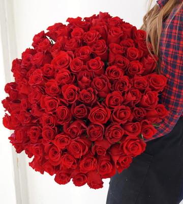 Букет Дом Роз из 101 Розы эквадор