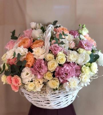 Корзина цветов для самой желанной
