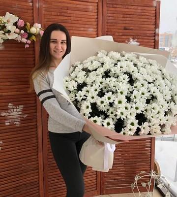 Огромный букет из Хризантем