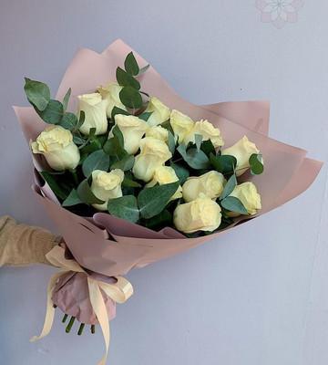 Букет любимой маме с розами