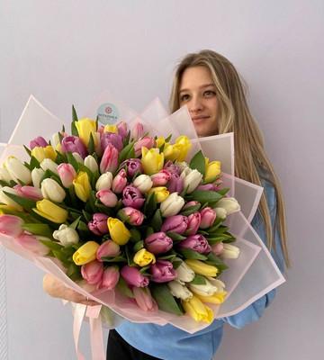 Тюльпаны к 8 марта 2021