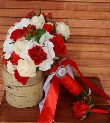 Букет невесты Эстетика