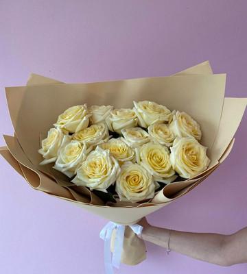 Букет с розами для мамы
