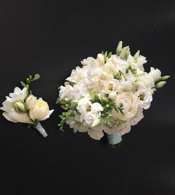 Букет невесты Белая нежность