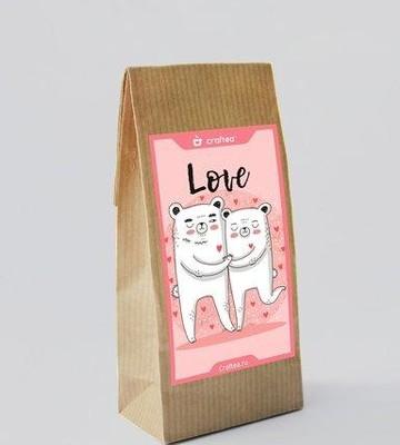 Чай ручной работы Love U Клубничный