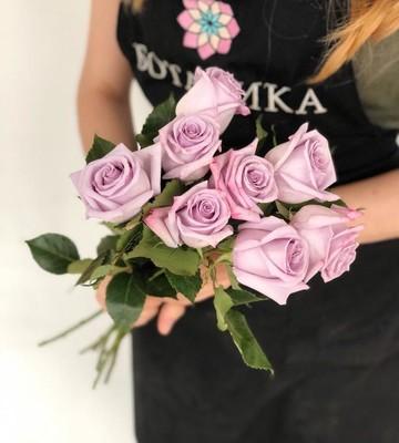 Розы фиолетовые Ocean Song (Штучно)