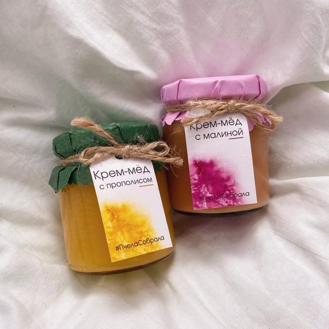 Мед цветочный в баночках - вид 1