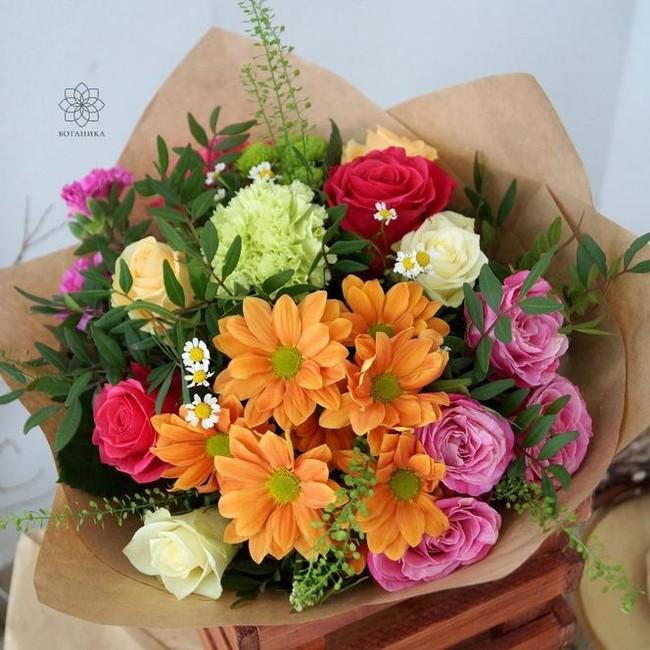Букет цветов на последний звонок - вид 1