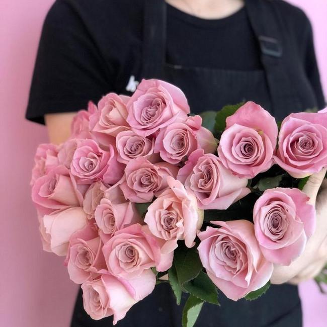 Розы Pink Mondial (Штучно)
