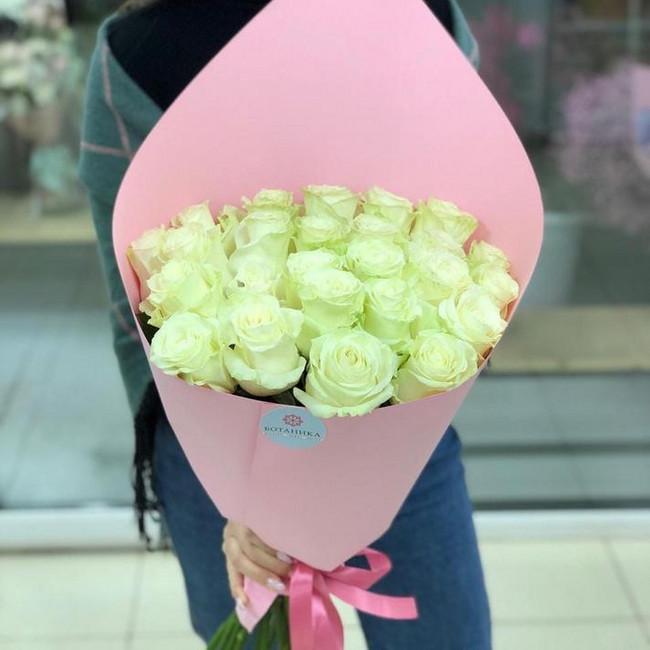 Белоснежные розы для ангелочка - вид 1