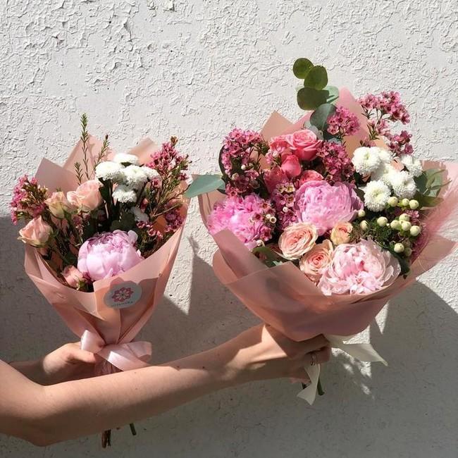 Цветочный комбо-набор для мамы и дочки