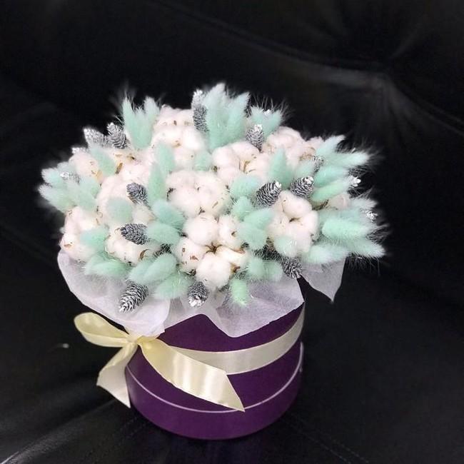 Новогодняя шляпная коробка - вид 1