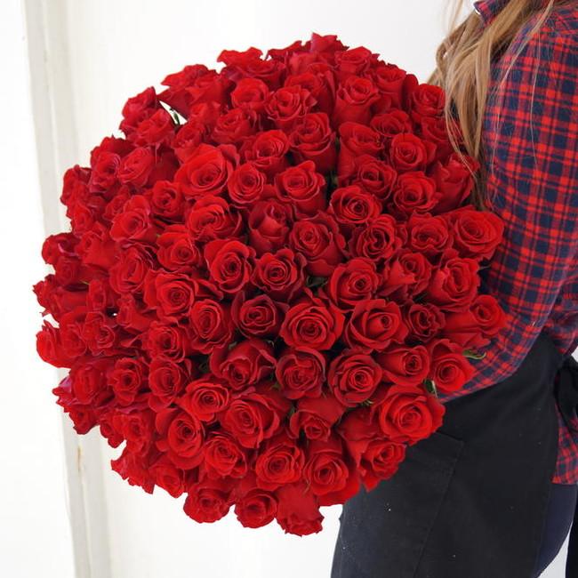 Букет Дом Роз из 101 Розы эквадор - вид 1