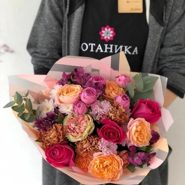 Букет Много роз - вид 1