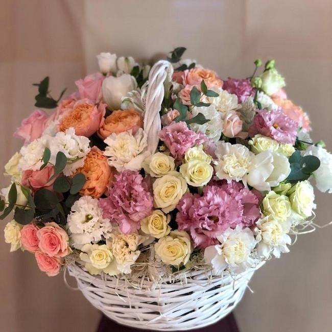 Корзина цветов для самой желанной - вид 1