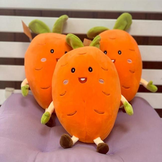 Мягкая игрушка Морковка - вид 1