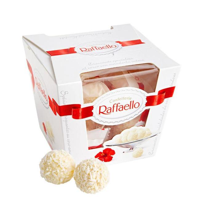 Raffaello конфеты с цельным миндальным орехом в кокосовой обсыпке - вид 1