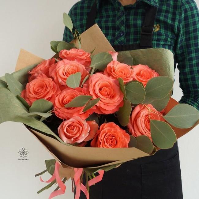 Букет из роз Доброе Утро - вид 1