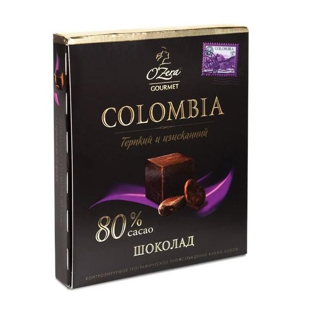 Шоколад горький Columbia - вид 1