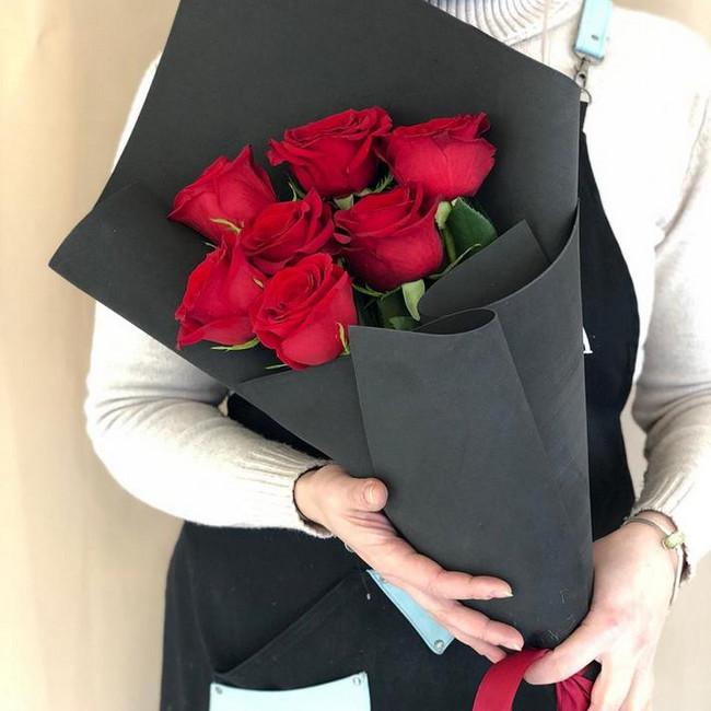 Купить Стильный букет роз