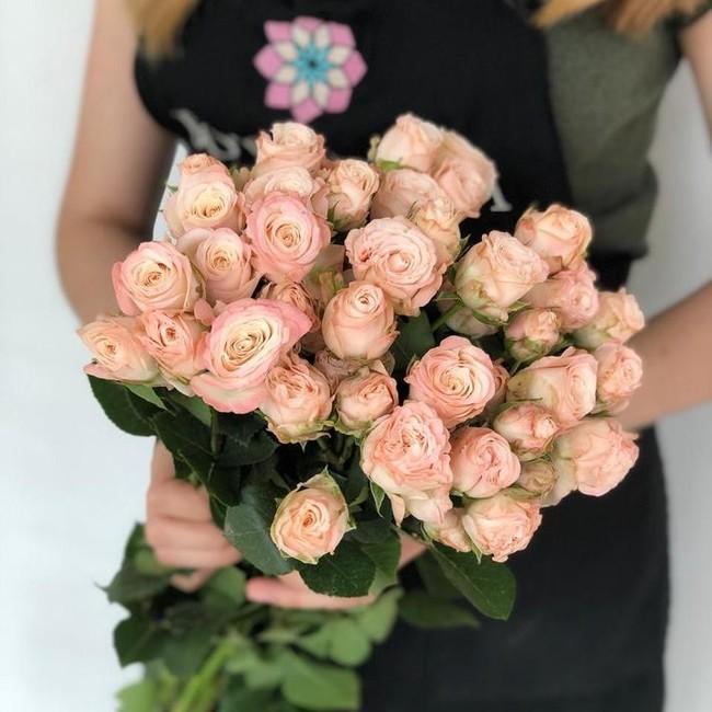 Многоголовая роза Бомбастик (штучно) - вид 1