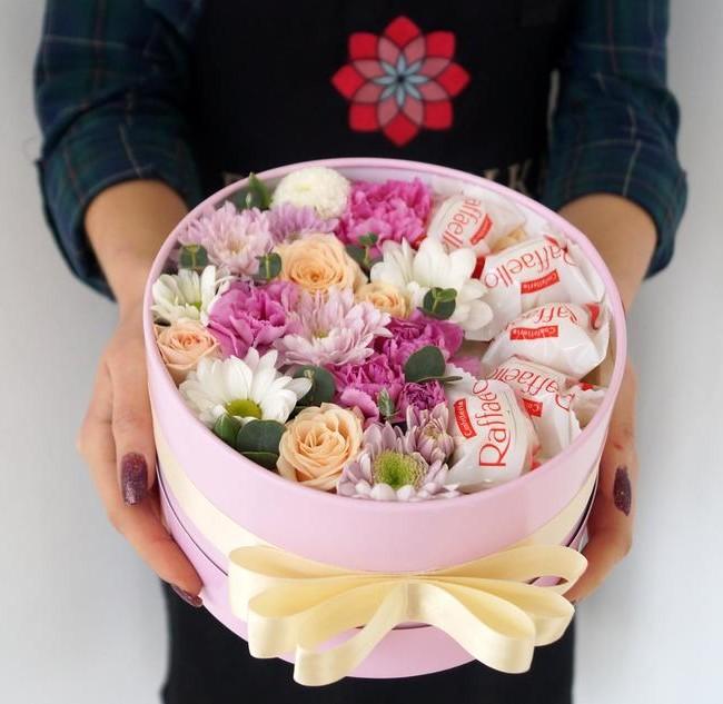 Цветочная коробка - вид 1