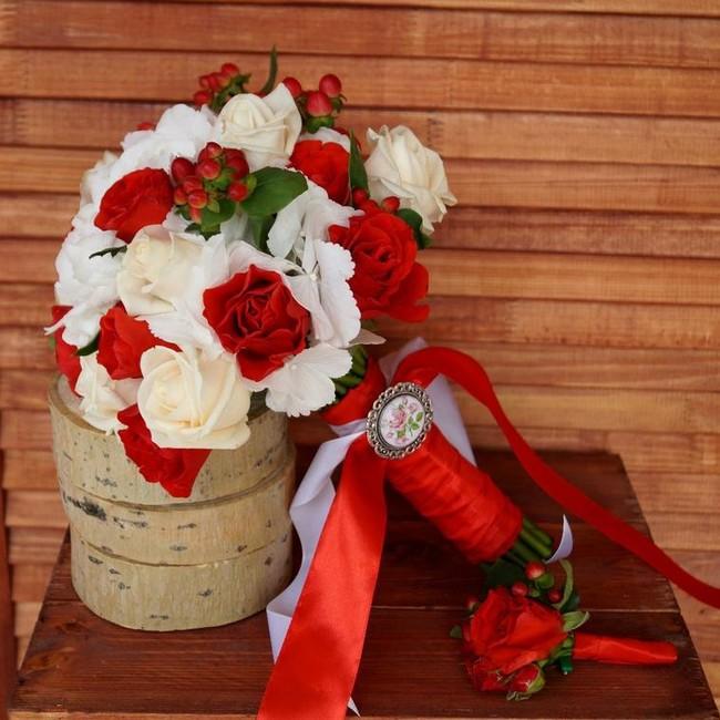 Букет невесты Эстетика - вид 1
