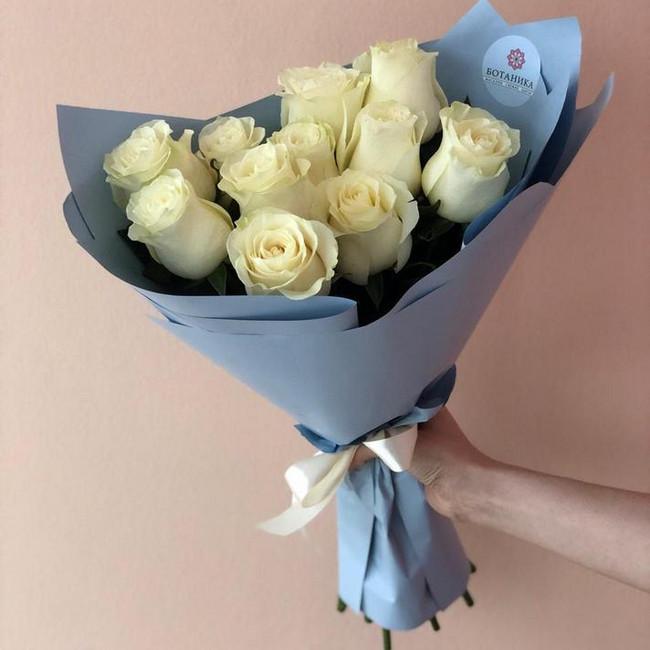 Букет из 11 Белых роз - вид 1