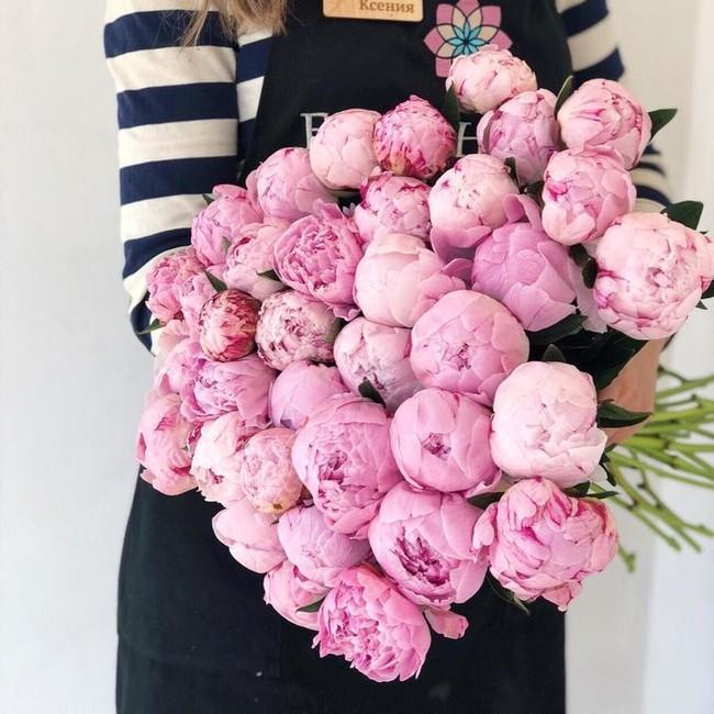 Пионы розовые (поштучно) - вид 1