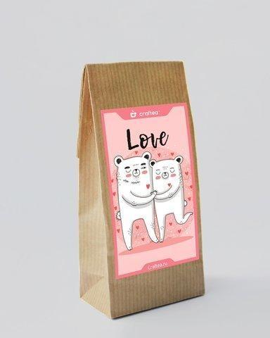 Чай ручной работы Love U Клубничный - вид 1