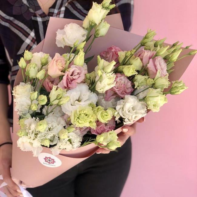 Букет цветов первый лист