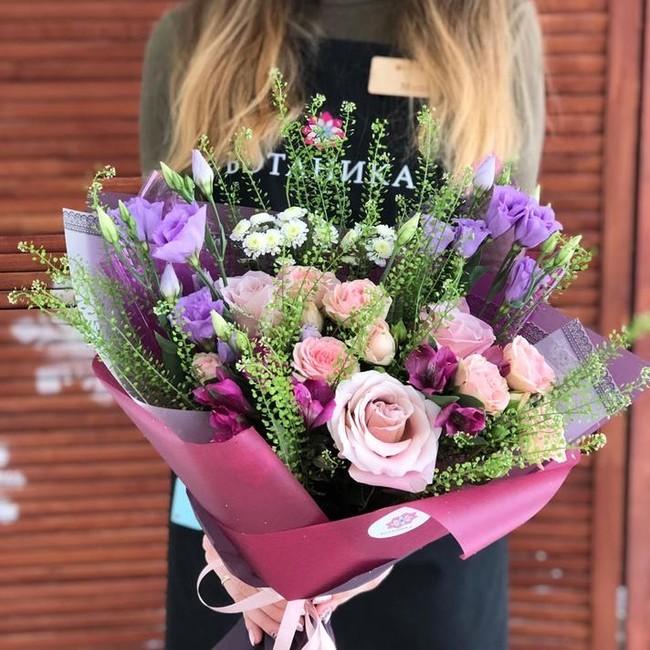 Букет Фиолетовая радость - вид 1