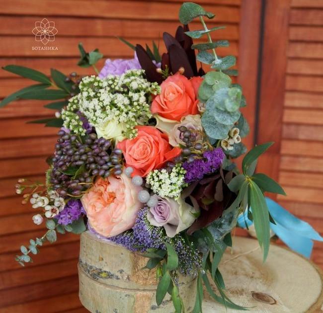 Букет невесты Эсмеральда - вид 1